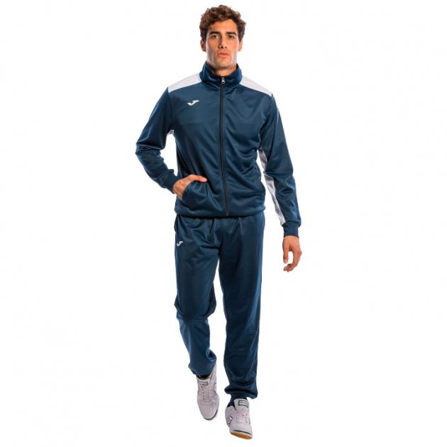 Спортивный костюм Joma CHANDAL ACADEMY 101096.302 цвет: синий/белый, размер XS - изображение 1