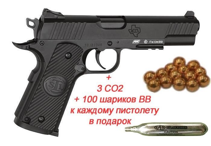 Пістолет пневм. ASG STI Duty One Blowback! 4,5 мм - зображення 1