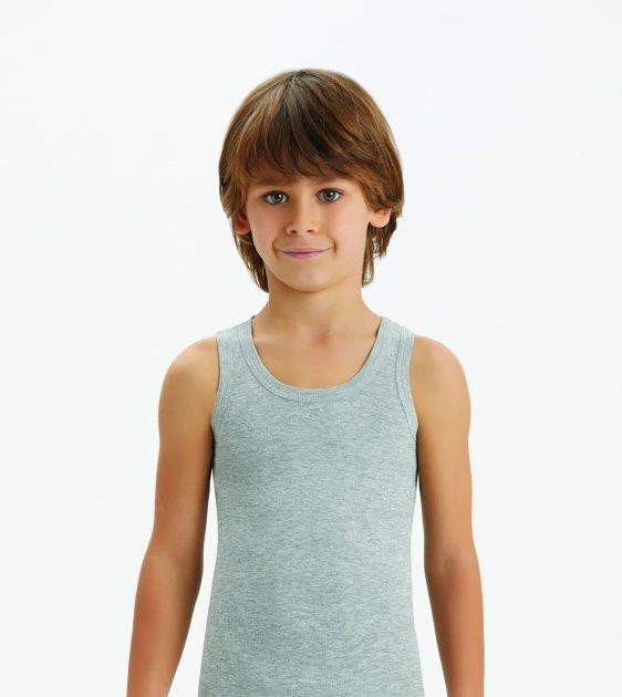 Детская майка для мальчика Baykar 2214 Турция, размер 4 рост 134-140 см, 100%хлопок - изображение 1