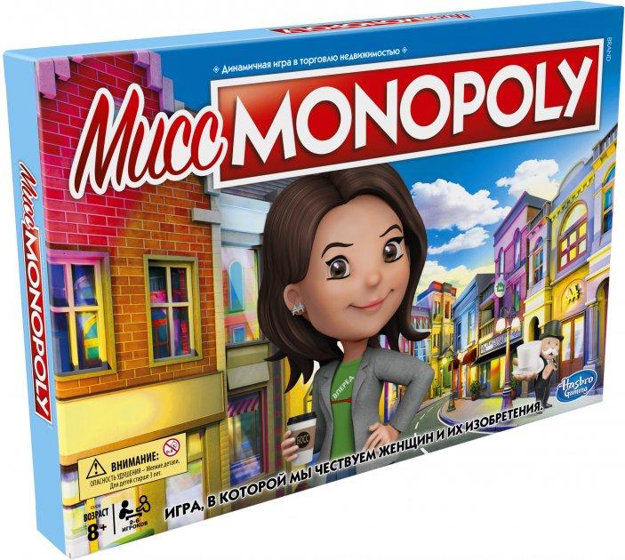 Настільна гра Hasbro Місіс Монополія (E8424) - зображення 1