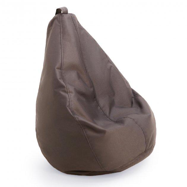 Крісло груша мішок дитяче Prolisok темно-сірий 60х80 (S) Oxford 600d PU - зображення 1