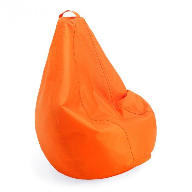 Крісло груша мішок дитяче Prolisok помаранчевий 60х80 (S) Oxford 600d PU - зображення 1