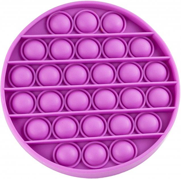 Игрушка антистресс Sibelly Pop It Mono Circle Violet (SB-PPIT-CRCL-VLT) (9869205468531)