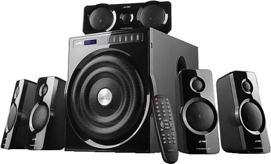 Акустична система F&D F6000X Black - зображення 1