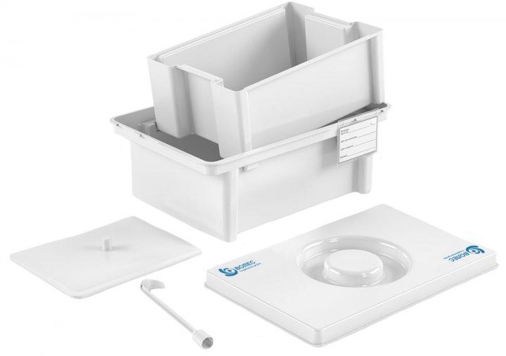 Контейнер полимерный Волес для дезинфекции и предстерилизационной обработки медицинских изделий ЕДПО-5-02 (503961) - изображение 1