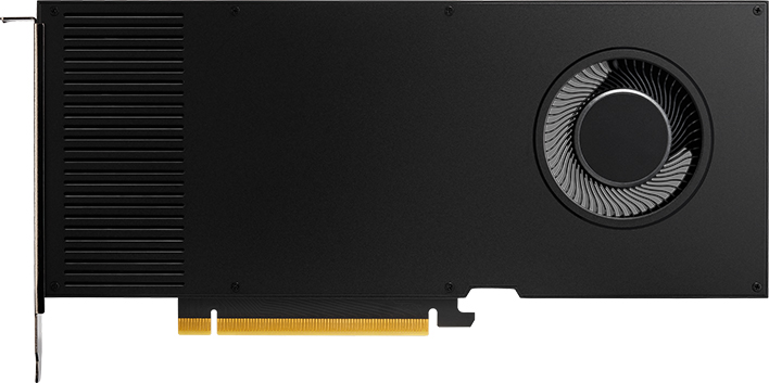 PNY PCI-Ex NVIDIA RTX A4000 16GB GDDR6 (256bit) (4 x DisplayPort) (VCNRTXA4000-SB) - изображение 1