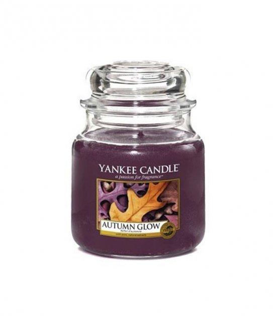 Ароматическая свеча Yankee Candle AUTUMN GLOW medium jar 1556219E - изображение 1