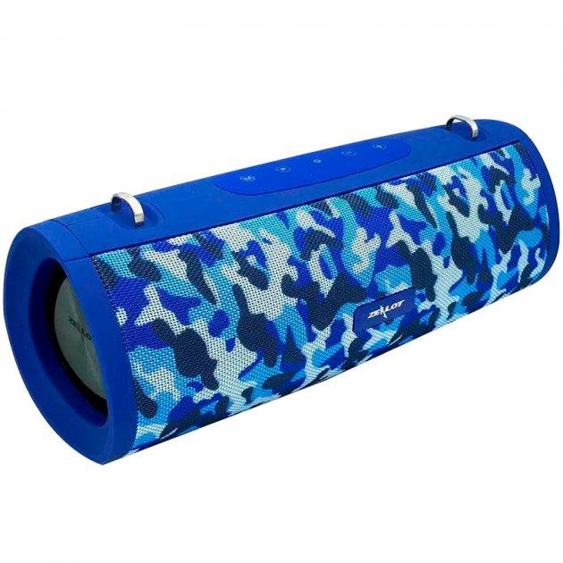 Портативная Bluetooth колонка OudioBop Zealot S39, Blue Camouflage - зображення 1