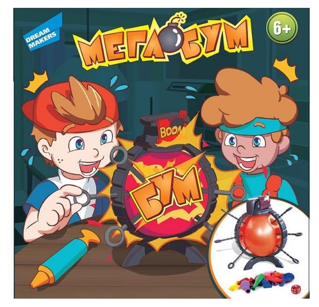 Игра детская настольная Dream Makers Мега Бум (B3110) (4812501160482)