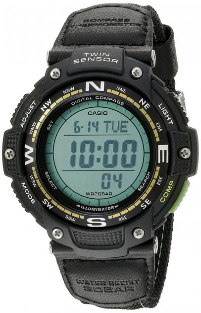 Мужские часы Casio SGW-100B-3A2ER - изображение 1