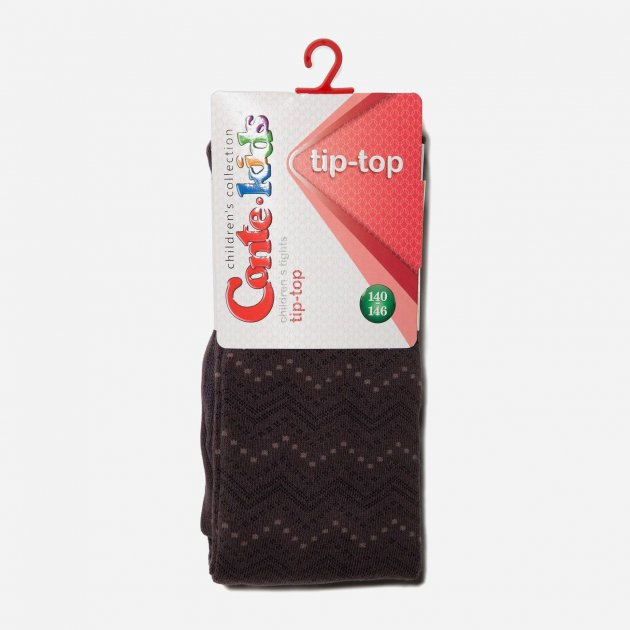 Колготки Conte Kids Tip-Top 5С-07СП-351 140-146 см Шоколадный (4810226067253) - изображение 1