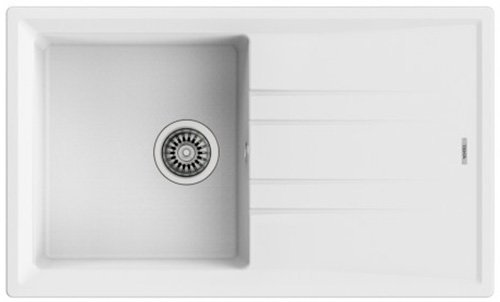 Кухонна мийка TEKA Stone 50 B-TG 1B 1D білий 115330019 - зображення 1