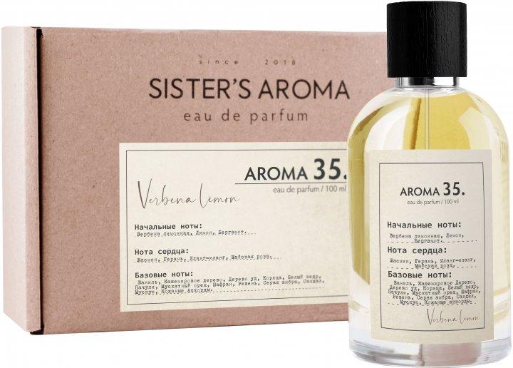 Парфюмированная вода унисекс Sister's Aroma 35 100 мл (4820227780372) - изображение 1