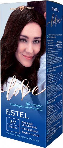 Стойкая крем-краска для волос Estel Love тон 5.7 Шоколад 100 мл (4606453044965) - изображение 1