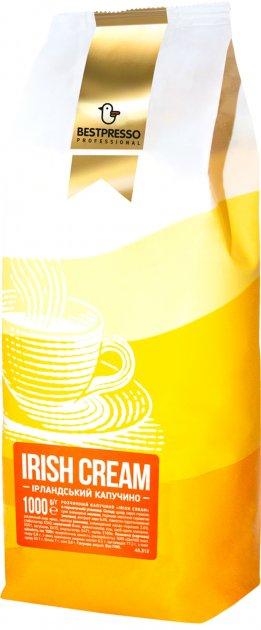 """Капучино Bestpresso """"Irish Creme"""" Ірландський віскі 1 кг (5410958135719) - зображення 1"""