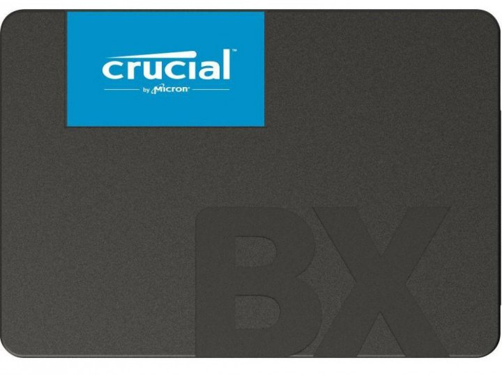 "SSD накопичувач Crucial BX500 Series 240GB 2.5"" SATAIII 3D NAND TLC (CT240BX500SSD1) - зображення 1"