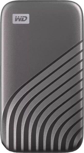 USB SSD накопичувач WD My Passport SSD 2TB USB3.2 Space Gray (WDBAGF0020BGY-WES) - зображення 1