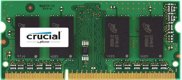 Оперативная память Crucial SODIMM DDR3L-1600 8192MB PC3L-12800 (CT102464BF160B) - изображение 1