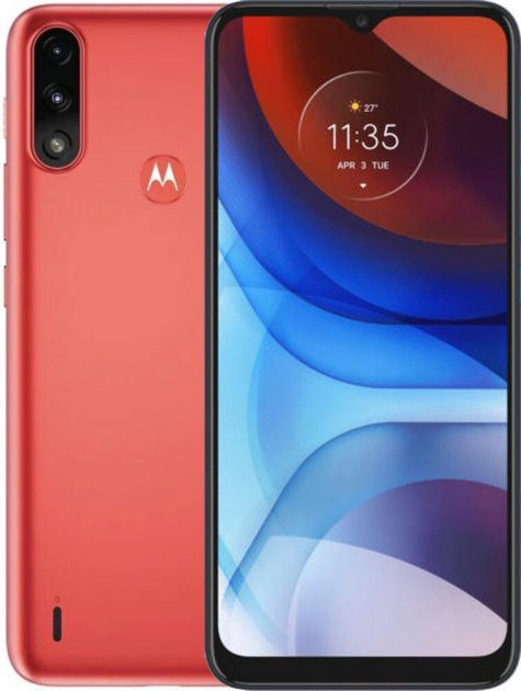 Мобильный телефон Motorola E7i Power 2/32GB Coral Red (789435) - изображение 1