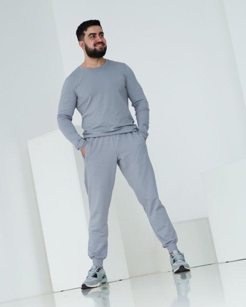 Спортивні штани тонкі GR8 active wear модель 44т2-св-сірі розмір 2XL - зображення 1
