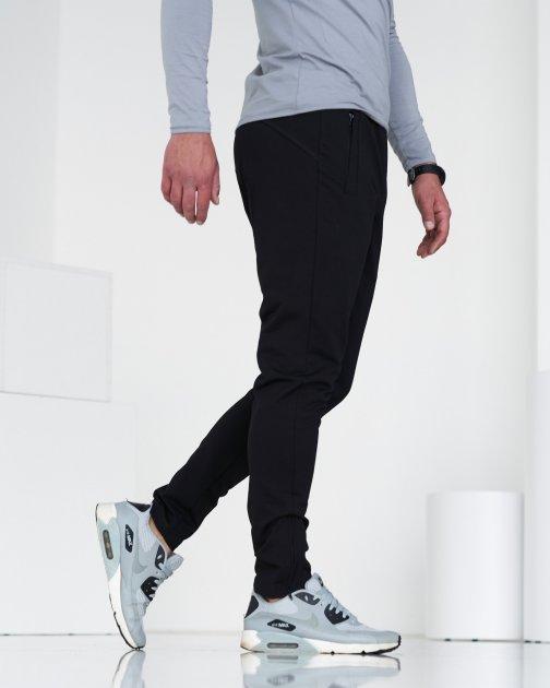 Спортивні штани тонкі GR8 active wear модель 6т2-чорний розмір XL - зображення 1