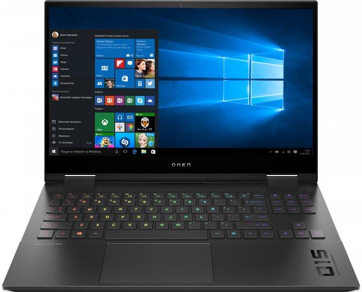 Ноутбук HP Omen 15-ek0045ur (22P22EA) Black - изображение 1