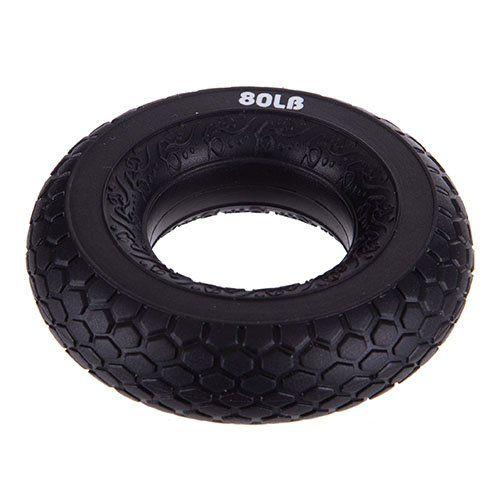 Эспандер кистевой Кольцо FI-2524 Jello 36кг Черный (56457007) - изображение 1