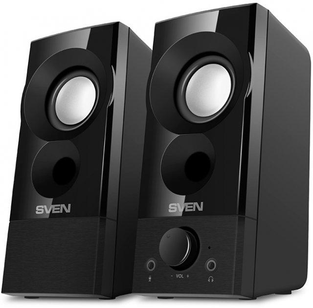 Акустическая система Sven 357 USB Black (00410089) - изображение 1