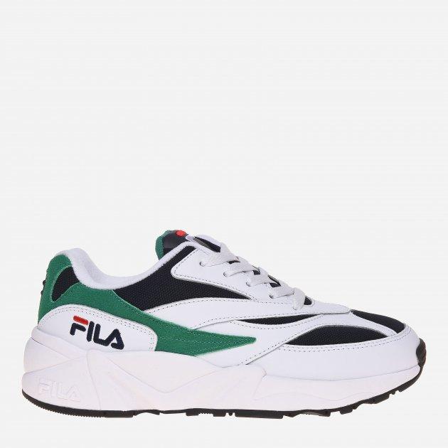 Кросівки Fila V94m Women's Low 5RM00647-143 41.5 (9.5) 26.5 см Білі з зеленим (2990021120314) - зображення 1