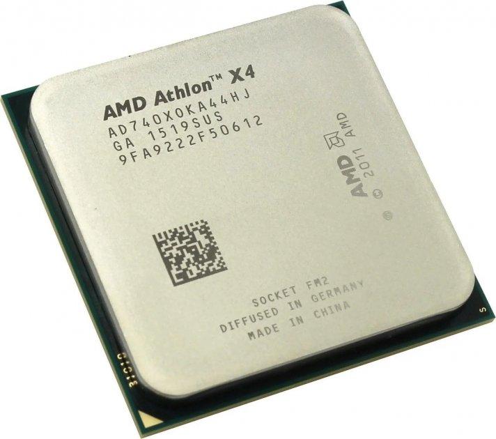 AMD Athlon X4 740 3.3-3.7 GHz (AD740X0KA44HJ) FM2 Б/У - зображення 1