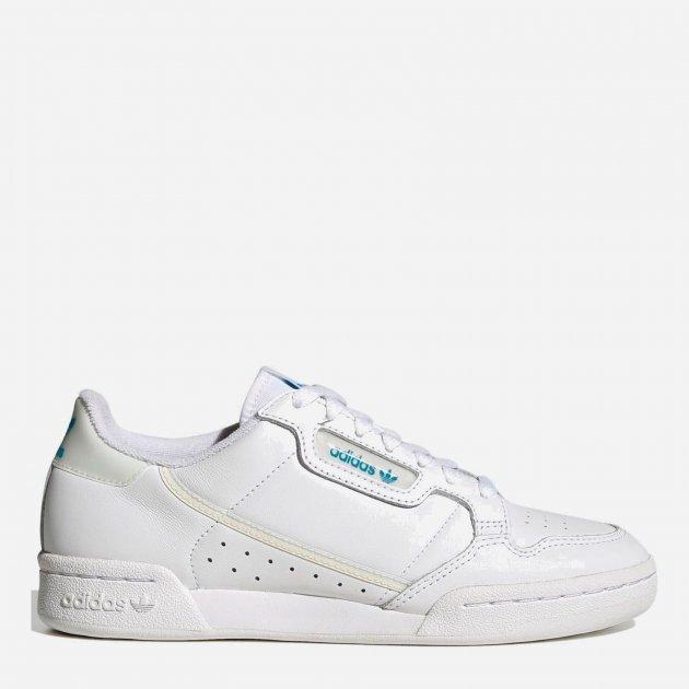 Кроссовки Adidas Originals Continental 80 W FU9975 35.5 (4) 22.5 см Ftwwht/Owhite/Cblack (4060517073092) - изображение 1