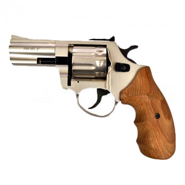 """Револьвер под патрон флобера PROFI (3.0"""", 4.0мм), сатин-бук - изображение 1"""
