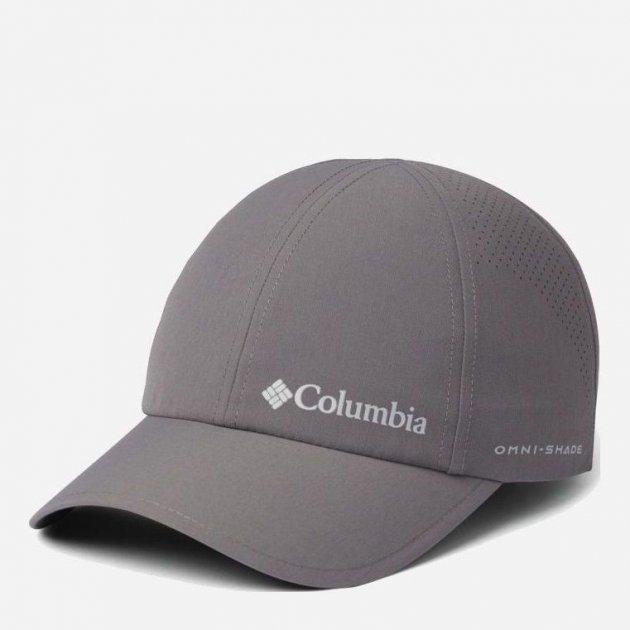 Кепка Columbia Silver Ridge III Ball Cap 1840071-023 Серая (0193553179665) - изображение 1