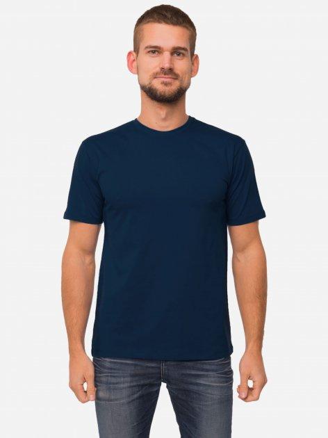 Футболка НатаЛюкс 12-1343 XL Темно-синя (1213439402441) - зображення 1