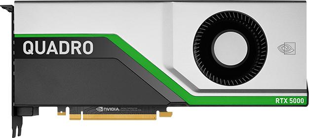PNY PCI-Ex NVIDIA Quadro RTX5000 16GB GDDR6 (256bit) (3 x DisplayPort, 1 х VirtualLink) (VCQRTX5000-BSP) - изображение 1