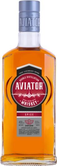 Напиток алкогольный с виски Aviator 0.5 л 40% (4820136353919) - изображение 1
