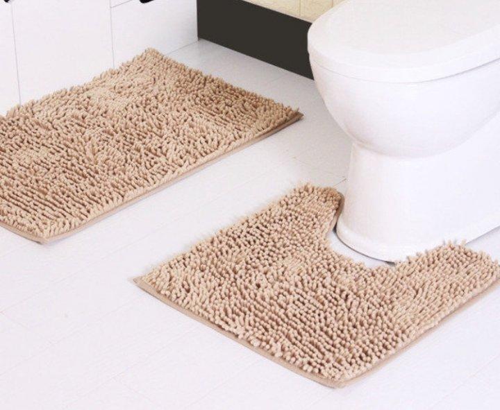 коврики для ванной и туалета комплект купить
