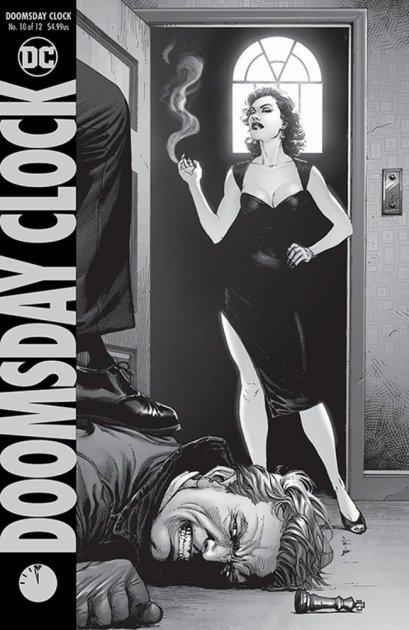 Doomsday Clock #10 Cover A Regular Gary Frank Cover - зображення 1