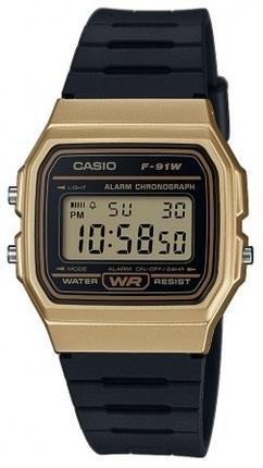 Мужские наручные часы Casio F-91WM-9AEF - зображення 1