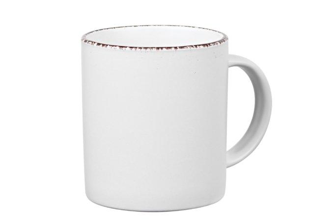 Чашка Ardesto Lucca Winter white Белый 360 мл (AR2930WMC) - изображение 1