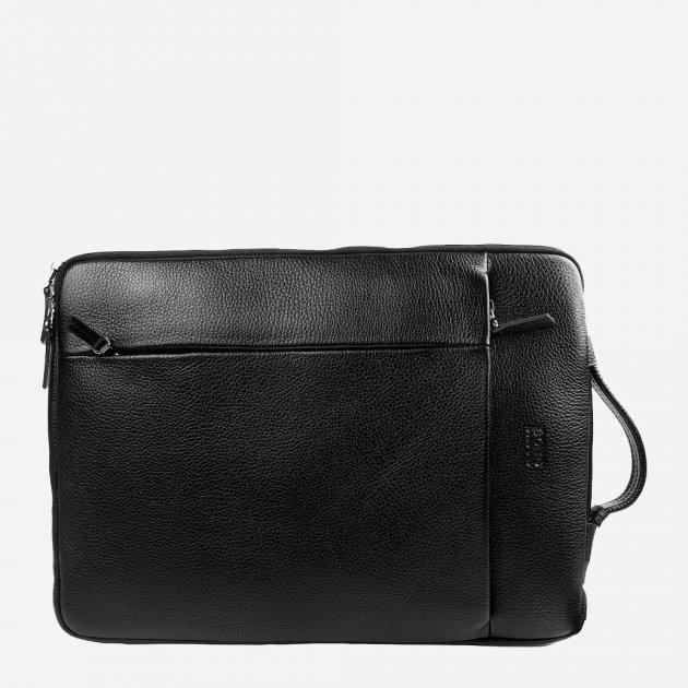 Мужская сумка кожаная Bond SHI1418-281 Черная (2900000132634) - изображение 1