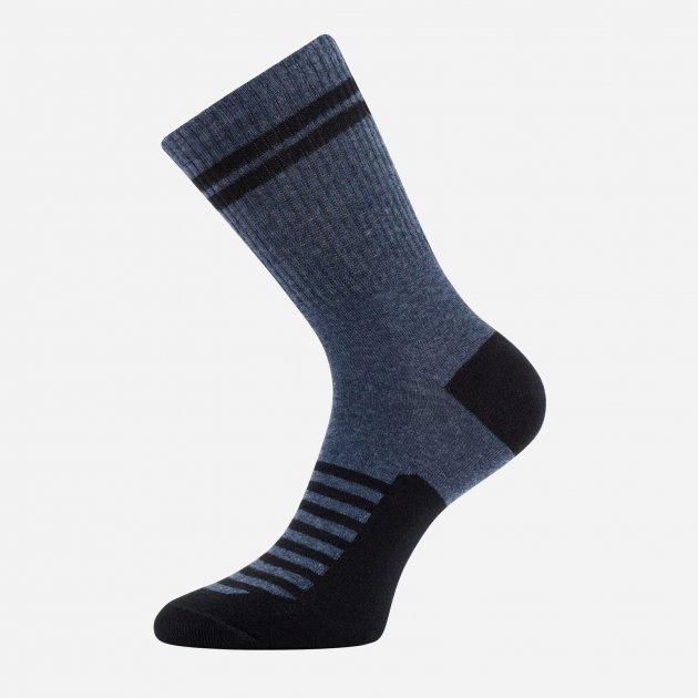 Носки Легка Хода 6334 43-44 р Марине меланж-черный (4823028076415) - изображение 1