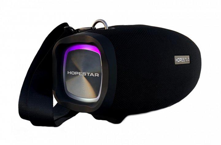 Портативная Bluetooth колонка Hopestar H1/X Party с беспроводным микрофоном (черный) - изображение 1