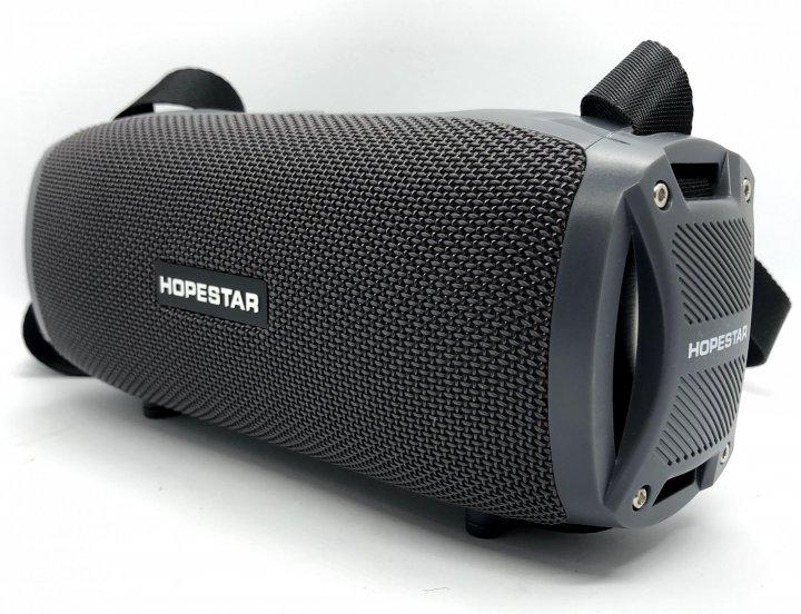 Портативная Bluetooth колонка Hopestar H24 Pro (серый) - изображение 1