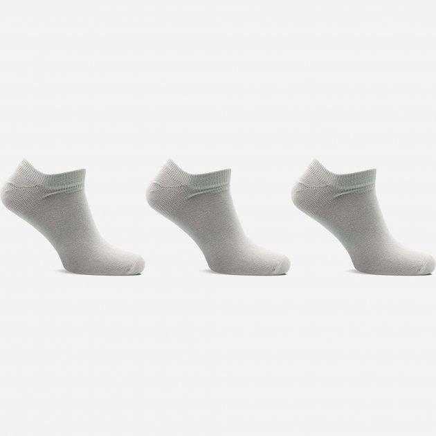 Носки Лео Lycra Сникерсы 25-27 3 пары Серые (ROZ6400005593) - изображение 1