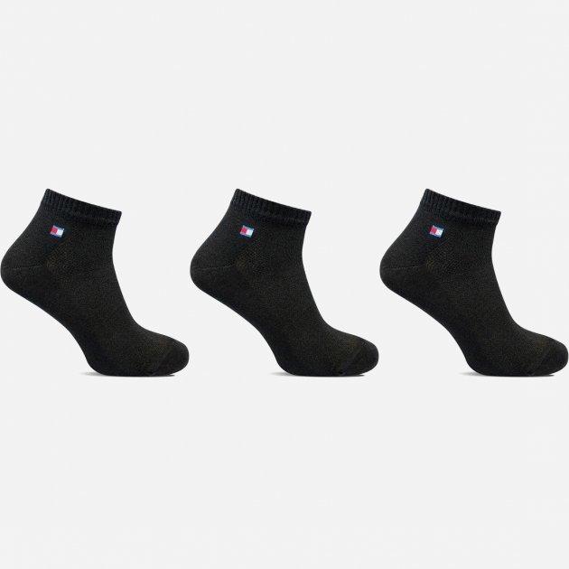Носки Лео Lycra Сетка Спорт 42-44 3 пары Черные (ROZ6400005495) - изображение 1