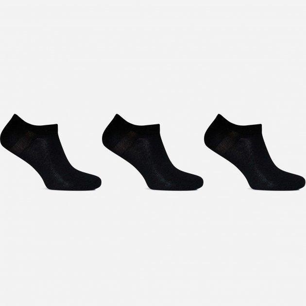 Шкарпетки Лео Lycra Снікерси 29-31 3 пари Чорні (ROZ6400005592) - зображення 1