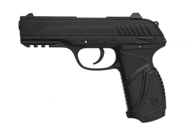 6111376-PI18 Пневматический пистолет GAMO PT-85 Комплект - зображення 1