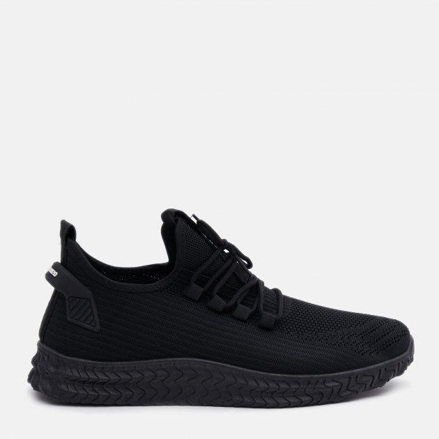 Кроссовки Ideal N12 43 26.5 см Черные (2400000253723) - изображение 1