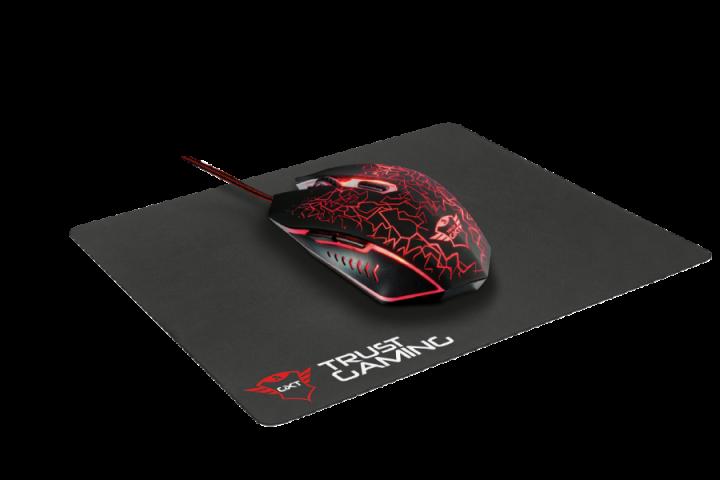 Игровая мышь и коврик GXT Trust 783 Gaming Mouse and Mouse Pad(22736) - изображение 1